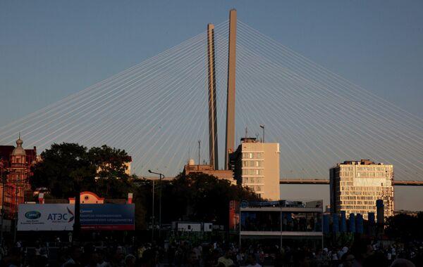 Символика саммита АТЭС-2012 во Владивостоке