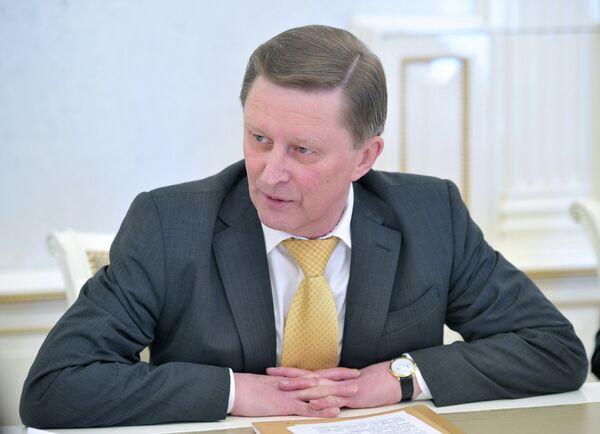 С.Иванов провел встречу с журналистами