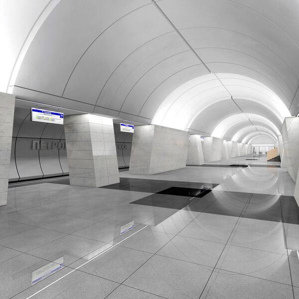 Проект станции метро «Петровско-Разумовская»