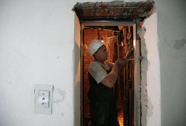 Замена лифтового оборудования в жилом доме в Новосибирске