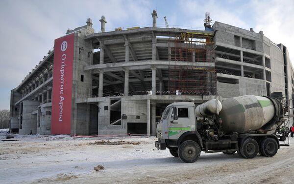 Новый стадион Спартака получит имя Открытие-Арена