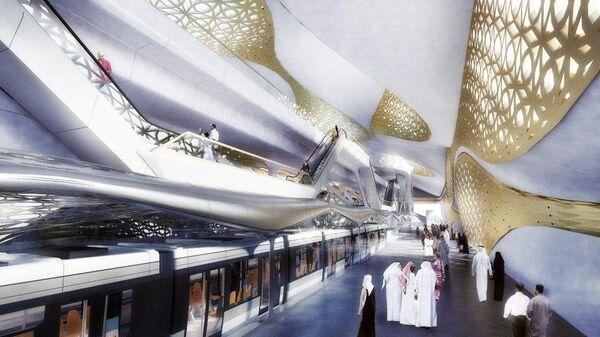 Проект станции метро в Эр-Рияде, Саудовская Аравия