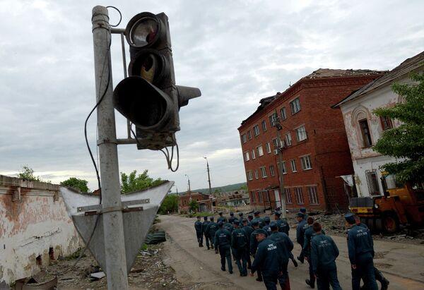 Ликвидация последствий смерча в Тульской области
