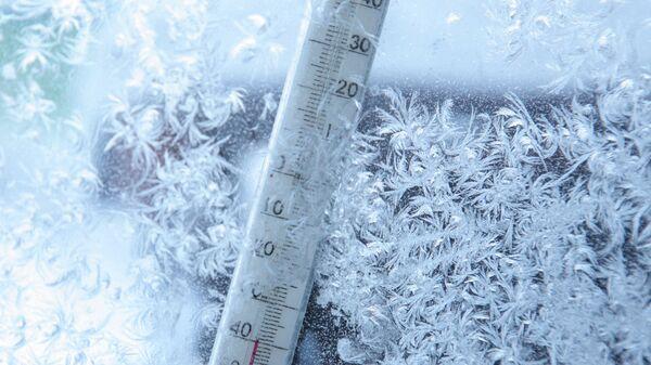 Мороз. Архивное фото