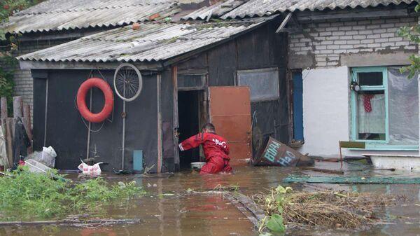 Паводок в районе Комсомольска-на-Амуре