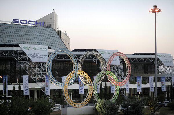 Олимпийская символика в Сочи