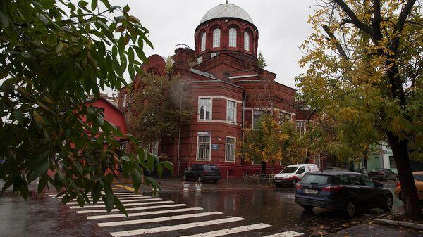 Храм Георгия Победоносца в Грузинах. Архивное фото