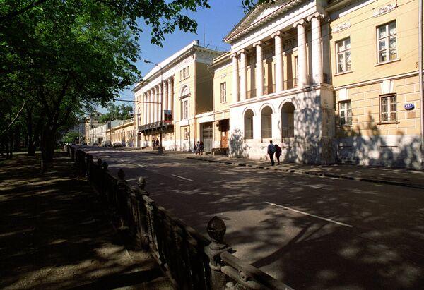 Здание Государственного музея искусства народов Востока