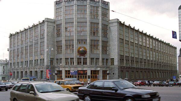 Здание Центрального телеграфа на Тверской улице