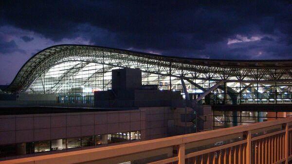 Аэропорт Кансаи в Японии