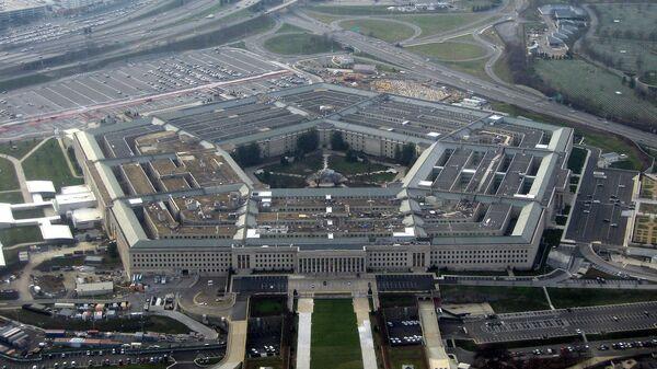 здание Пентагона в штате Виргиния в США