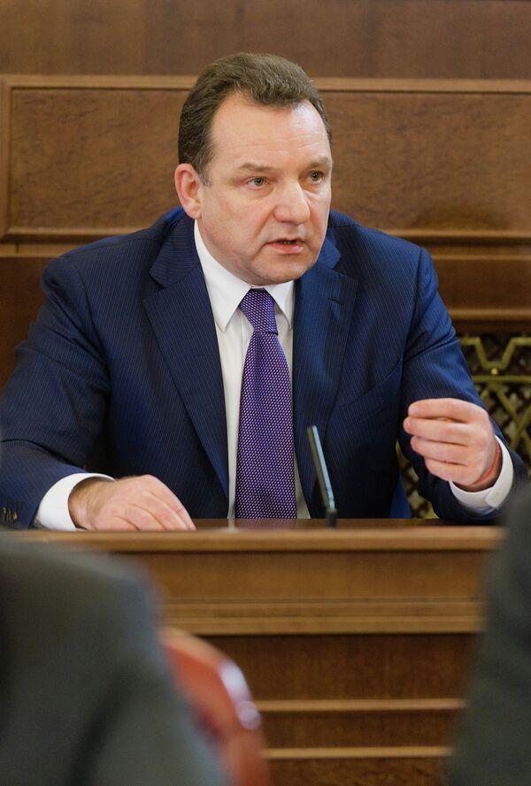 Руководитель Департамента города Москвы по конкурентной политике Геннадий Дегтев