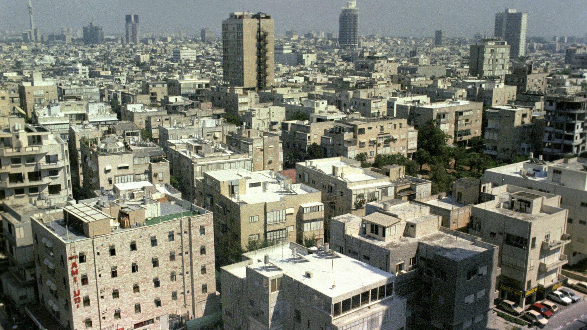 Вид на город Тель-Авив - РИА Новости, 1920, 10.05.2021
