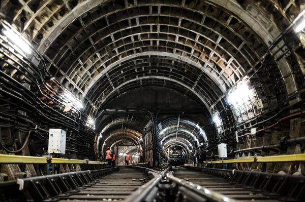 Ночные профилактические работы в московском метрополитене