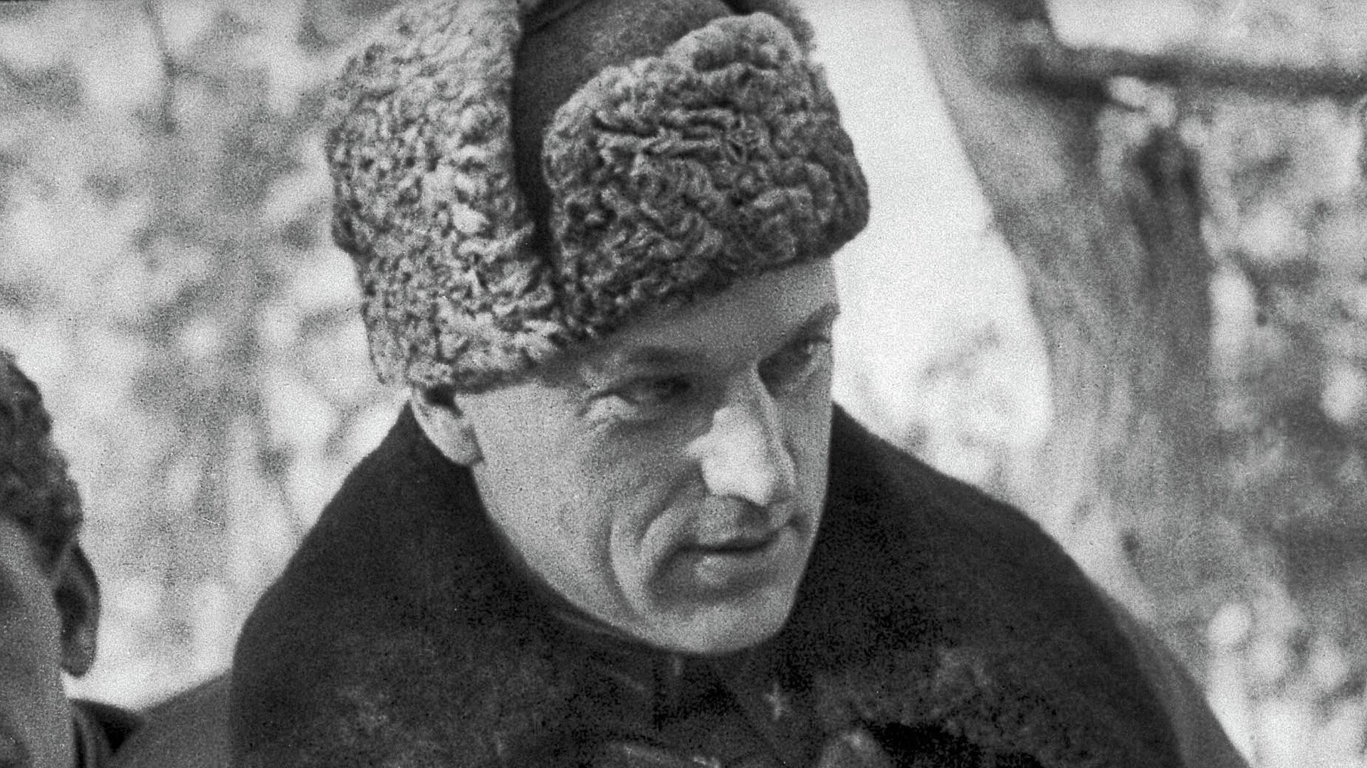 Генерал-лейтенант К.Рокоссовский в дни войны - РИА Новости, 1920, 05.05.2020