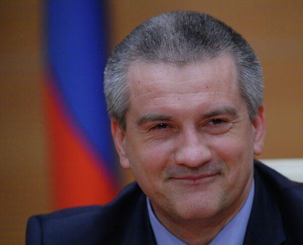 Премьер-министр Республики Крым Сергей Аксенов