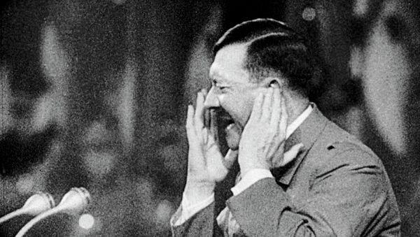 Адольф Гитлер. Архивное фото.
