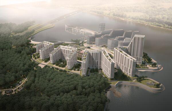 Проект ЖК Японский квартал