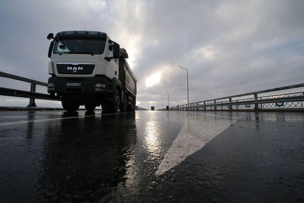 Открытие магистрального путепровода