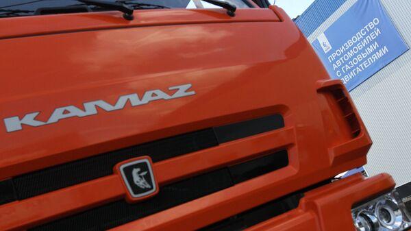 Открытие на заводе ОАО КАМАЗ линии по производству техники, работающей на газу