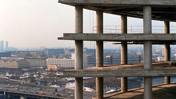 Строительство офисных зданий в комплексе Москва-Сити