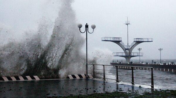 Тайфун Гони в Приморском крае
