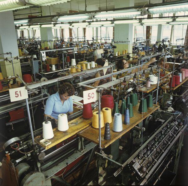На Шяуляйском заводе трикотажных изделий Вярпстас