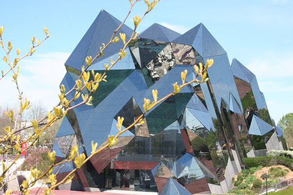 Здание парка развлечений Футуроскоп