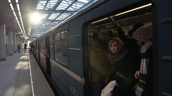 Открытие станции метро Технопарк