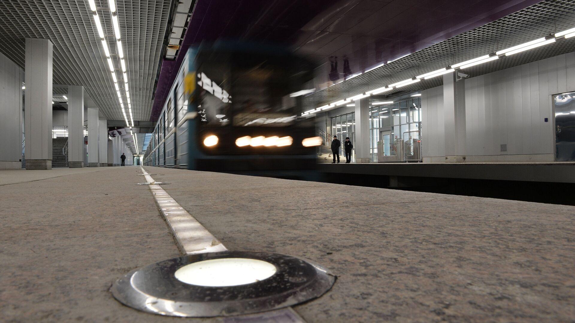Дептранс опроверг сообщение о возгорании кабеля на зеленой ветке метро
