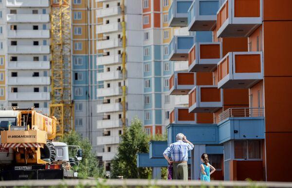 Строительство жилого комплекса Ярославский в Мытищах
