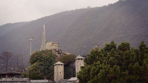 Гора Сан-Сальваторе в Лугано (миниатюра)
