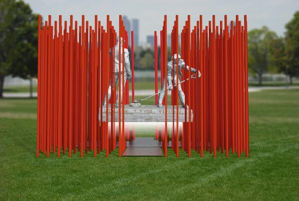 Проект инсталляции на территории проекта СИМВОЛ