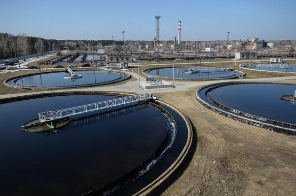 Запуск системы ультрафиолетовой очистки сточных вод