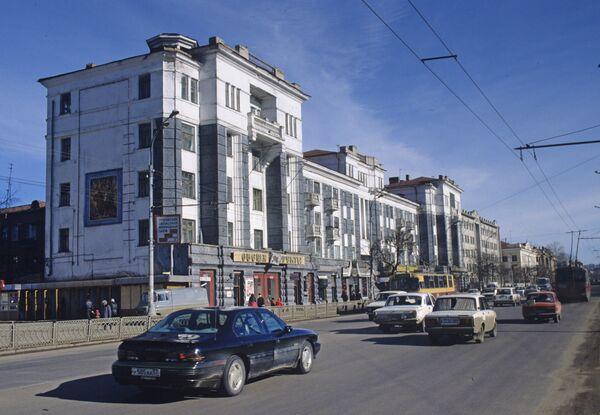 На улице Московской в Орле