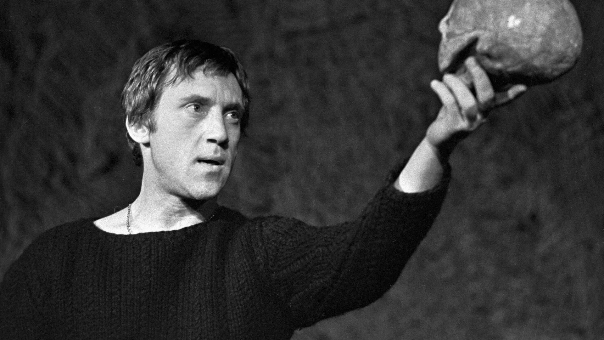 Актер Владимир Высоцкий в роли Гамлета - РИА Новости, 1920, 25.07.2020