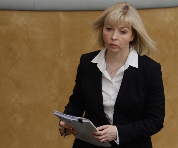 Статс-секретарь - заместитель министра строительства и жилищно-коммунального хозяйства РФ Наталья Антипина