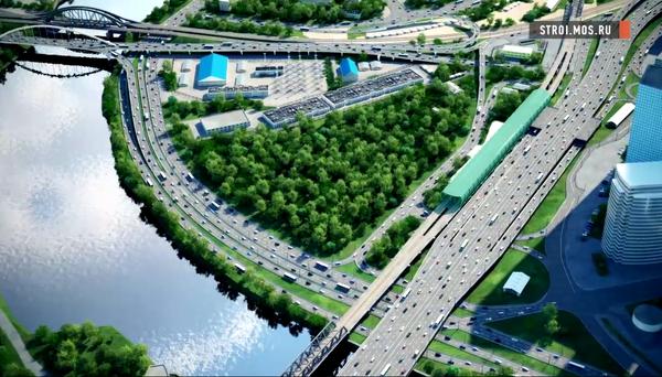 На Краснопресненской набережной Москвы-реки установят диваны