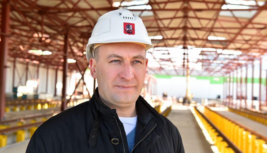 Руководитель девелоперского дивизиона Мосинжпроекта Альберт Суниев