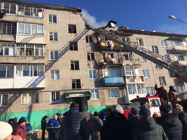 Взрыв газа произошел в жилом доме в Хабаровском крае