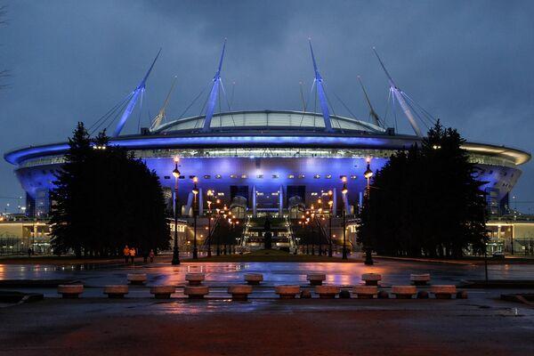 Подсветка стадиона Крестовский