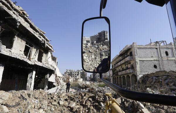 Разрушенные исторические памятники. Ситуация в Алеппо