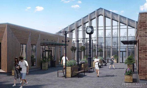 Проект реконструкции Верхнего рынка в Пятигорске