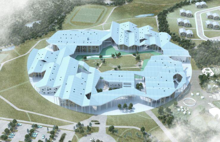 Умная школа в Иркутске, Россия