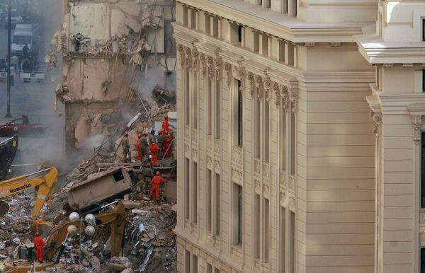 Обрушение зданий в Рио