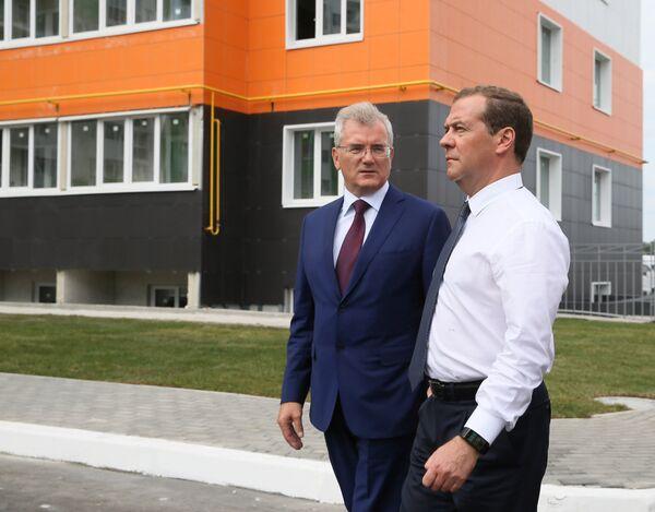 Рабочая поездка премьер-министра РФ Д. Медведева в Приволжский федеральный округ