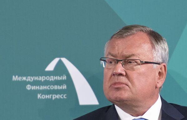 Президент, председатель правления банка ВТБ Андрей Костин