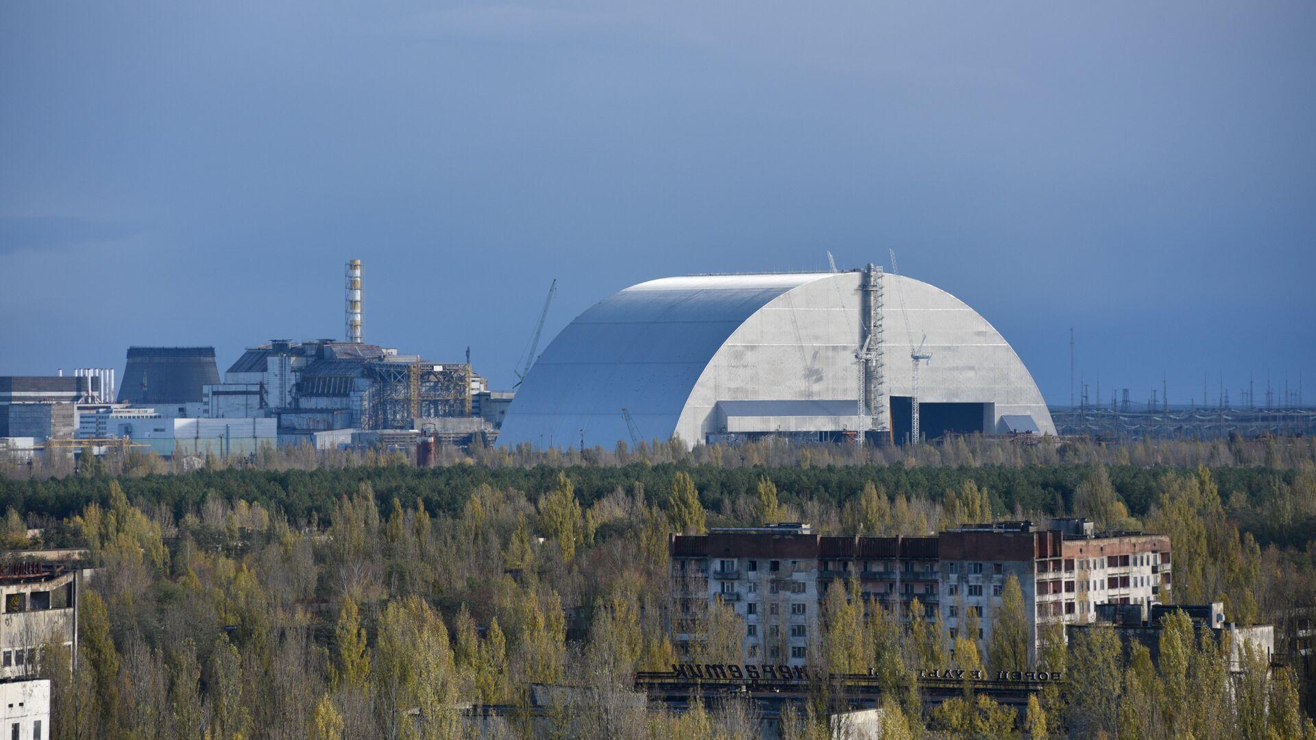 Чернобыльская атомная электростанция - РИА Новости, 1920, 12.05.2021