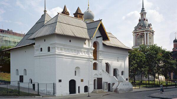 Палати Старого английского двора XVI-XVII