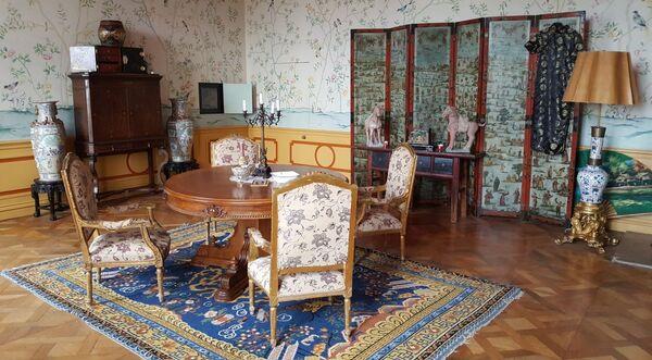 Китайский салон замка Лоучень